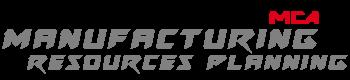 Logo du module MRP (Manufacturing Resources Planning) des logiciels MCA Concept